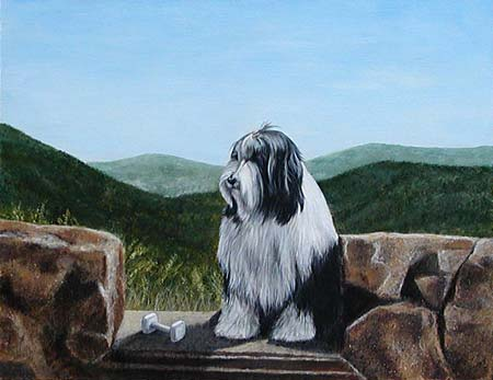 BCCA Obedience Painting
