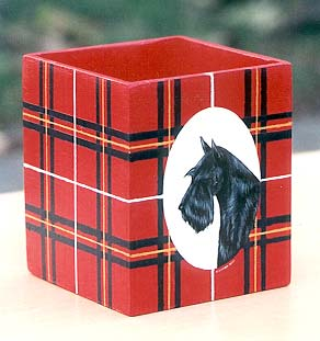 Scottish Terrier Pencil Cup
